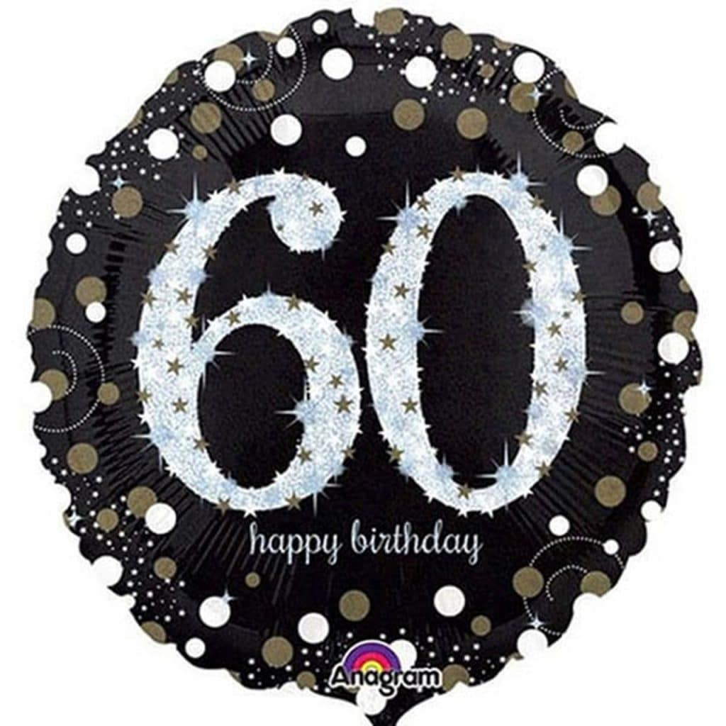 60th Sparkling Birthday