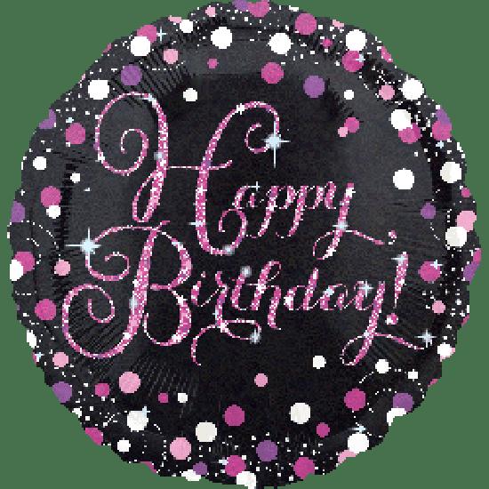 Happy Sparkling Birthday Foil